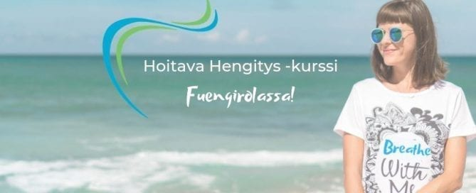 Hoitava Hengitys -valmennus Fuengirolassa ja Facebookissa