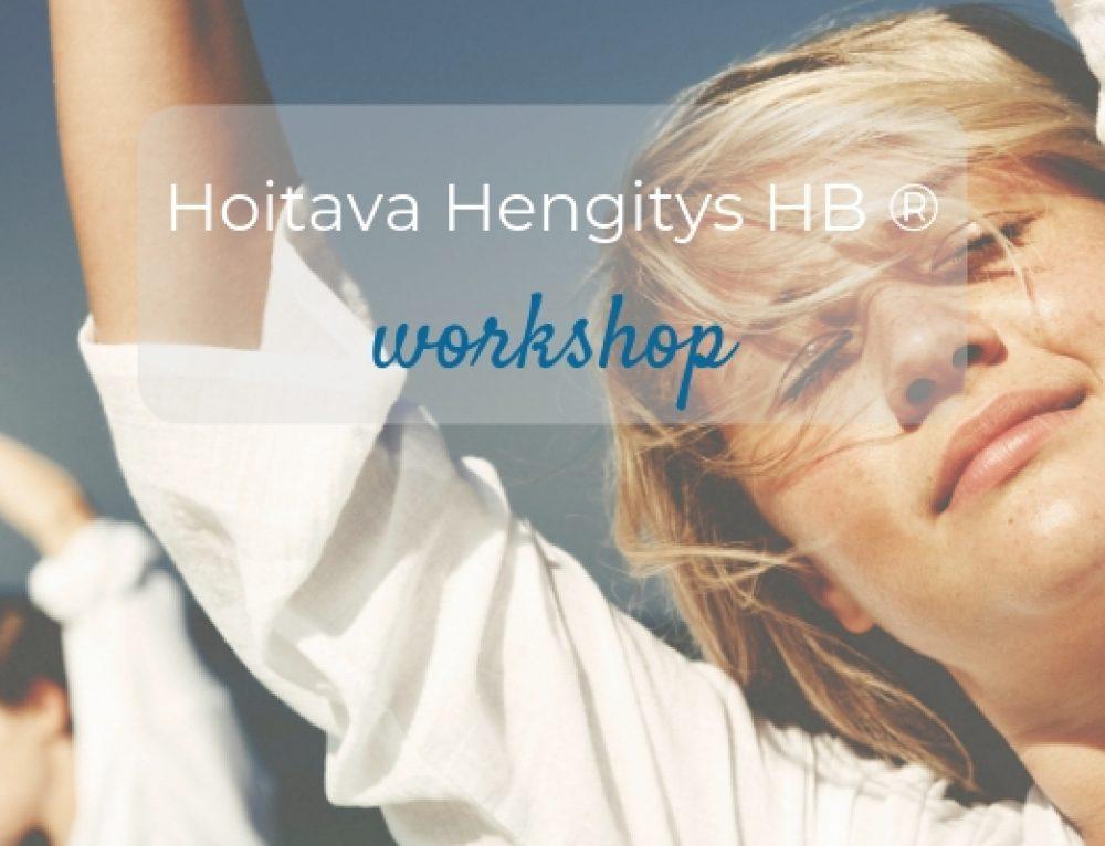 26.8.2019 Hoitava Hengitys -workshop LEMPÄÄLÄSSÄ
