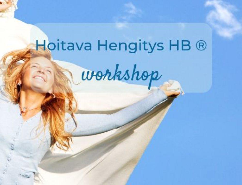 8.10.2019 Hoitava Hengitys -workshop HELSINGISSÄ