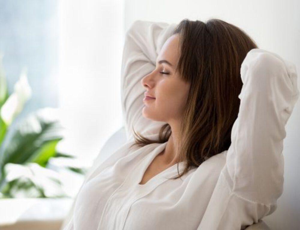 Stressin lievitys hengityksen avulla